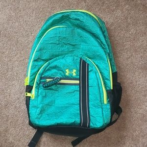 Under Armour Backpack Teal Excellent Condition